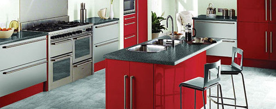 Banner image with link to Kitchens & Bathrooms page.